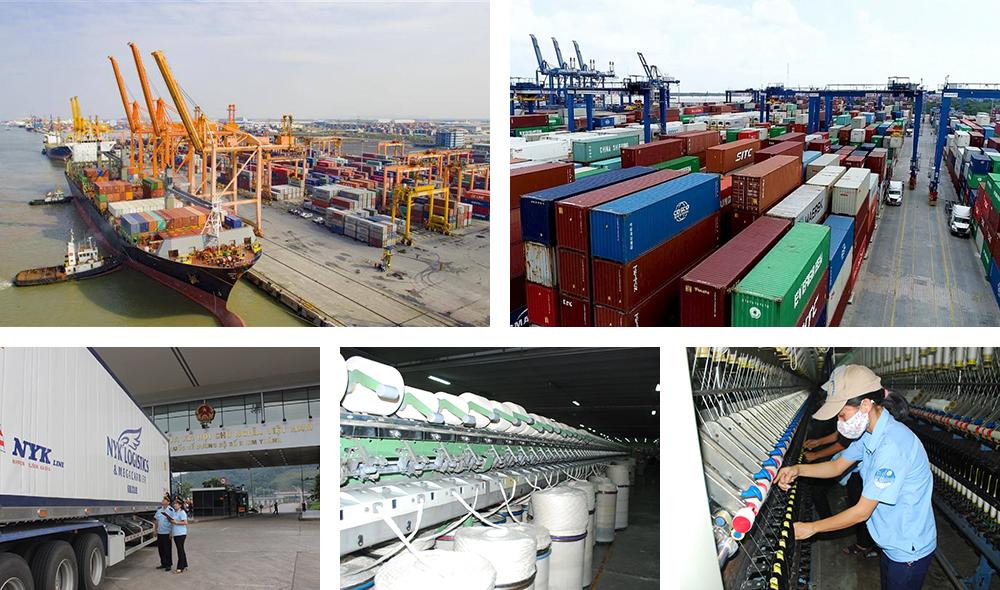 """MEGASTORY: Ấn tượng kỷ lục hơn 545 tỷ USD xuất nhập khẩu trong """"Năm Covid-19"""""""