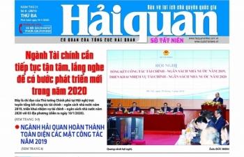 Những tin, bài hấp dẫn trên Báo Hải quan số 6 phát hành ngày 14/1/2020