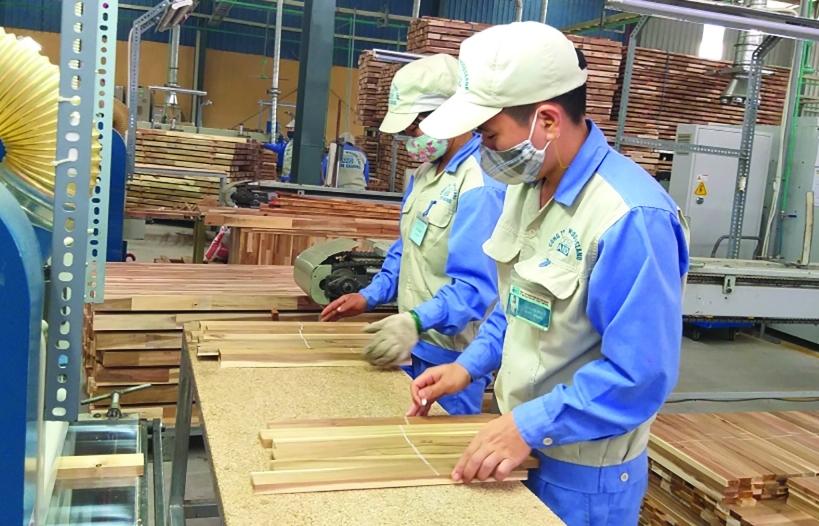 Xuất khẩu gỗ phấn đấu 14 tỷ USD