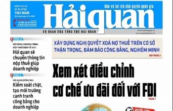 Những tin, bài hấp dẫn trên Báo Hải quan số 32 phát hành ngày 14/3/2019