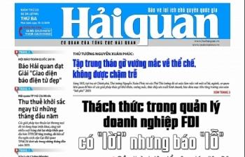 Những tin, bài hấp dẫn trên Báo Hải quan số 34 phát hành ngày 19/3/2019