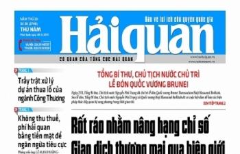 Những tin, bài hấp dẫn trên Báo Hải quan số 38 phát hành ngày 28/3/2019