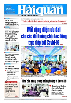 Những tin, bài hấp dẫn trên Báo Hải quan số 39 phát hành ngày 31/3/2020