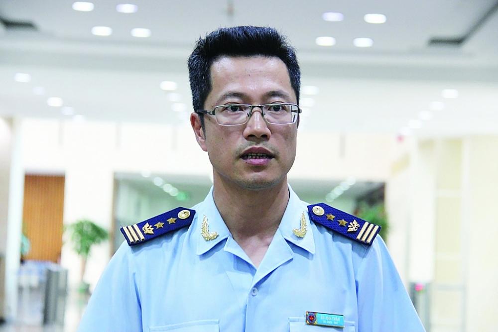 Ông Âu Anh Tuấn, Cục trưởng Cục Giám sát quản lý về hải quan (Tổng cục Hải quan)