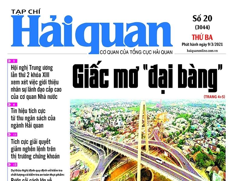 Những tin, bài hấp dẫn trên Tạp chí Hải quan số 20 phát hành ngày 9/3/2021
