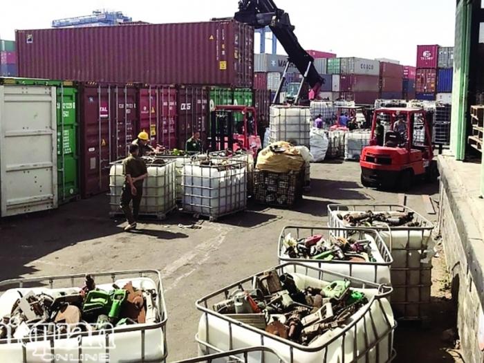 Nhiều vi phạm về nhập khẩu phế liệu bị xử lý