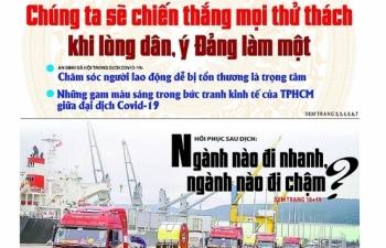 Những tin, bài hấp dẫn trên Báo Hải quan số 51+52+53 phát hành ngày 28/4/2020