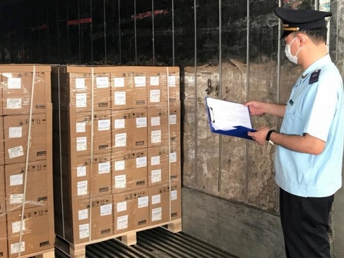 Hải quan Móng Cái: Hơn 600 doanh nghiệp làm thủ tục hải quan qua cầu Bắc Luân II