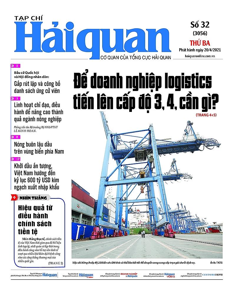 Những tin, bài hấp dẫn trên Tạp chí Hải quan số 32 phát hành ngày 20/4/2021