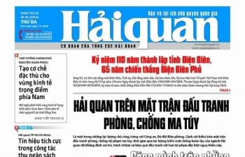 Những tin, bài hấp dẫn trên Báo Hải quan số 55 phát hành ngày 7/5/2019