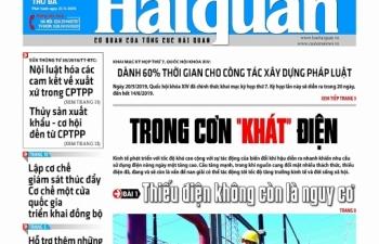 Những tin, bài hấp dẫn trên Báo Hải quan số 61 phát hành ngày 21/5/2019