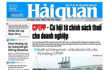 Những tin, bài hấp dẫn trên Báo Hải quan số 64 phát hành ngày 28/5/2019