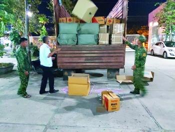 Ma tuý, hàng lậu lại tuồn về Việt Nam qua biên giới Tây Nam