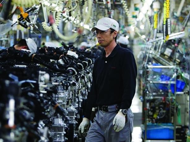 Tín hiệu trái chiều trong sản lượng công nghiệp của Nhật Bản và Hàn Quốc