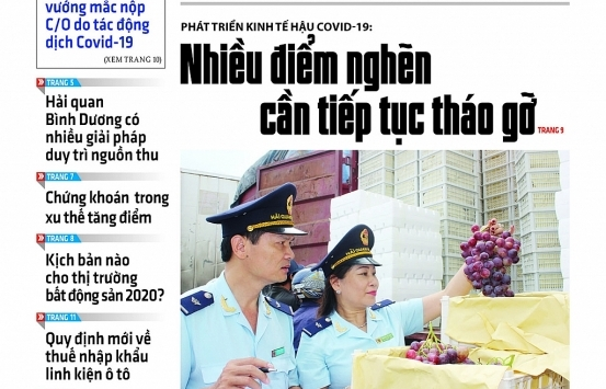 Những tin, bài hấp dẫn trên Báo Hải quan số 66 phát hành ngày 2/6/2020