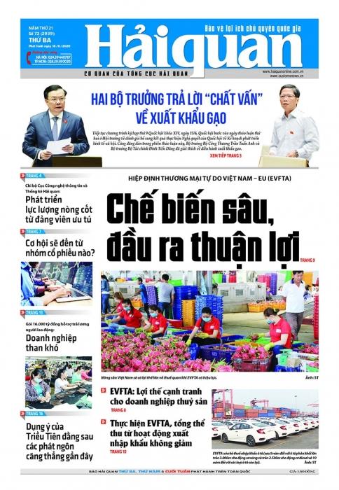 Những tin, bài hấp dẫn trên Báo Hải quan số 72 phát hành ngày 16/6/2020