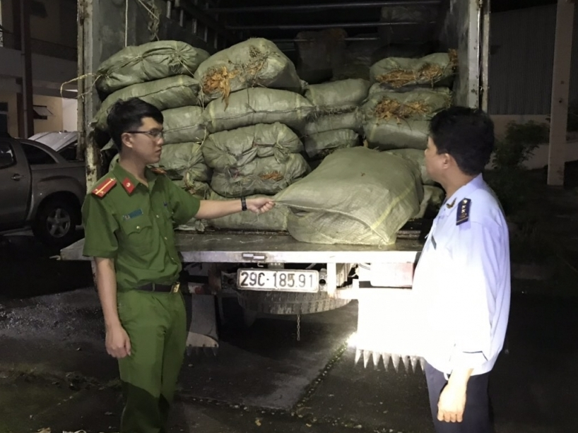 Hải quan Cao Bằng nỗ lực ngăn chặn vận chuyển trái phép hàng hóa qua biên giới