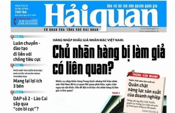 Những tin, bài hấp dẫn trên Báo Hải quan số 88 phát hành ngày 23/7/2019