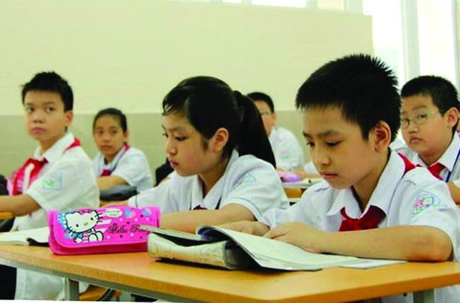 Tuyển sinh đầu cấp: Nỗ lực giảm số lượng học sinh