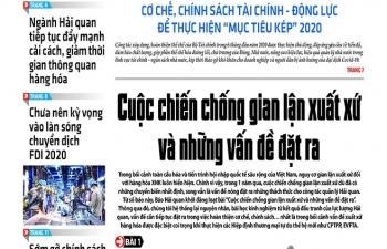 Những tin, bài hấp dẫn trên Báo Hải quan số 81 phát hành ngày 7/7/2020