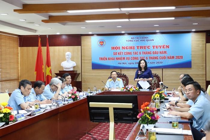 Thứ trưởng Bộ Tài chính Vũ Thị Mai: Tin tưởng ngành Hải quan sẽ hoàn thành xuất sắc nhiệm vụ 2020