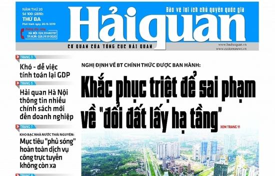 Những tin, bài hấp dẫn trên Báo Hải quan số 100 phát hành ngày 20/8/2019