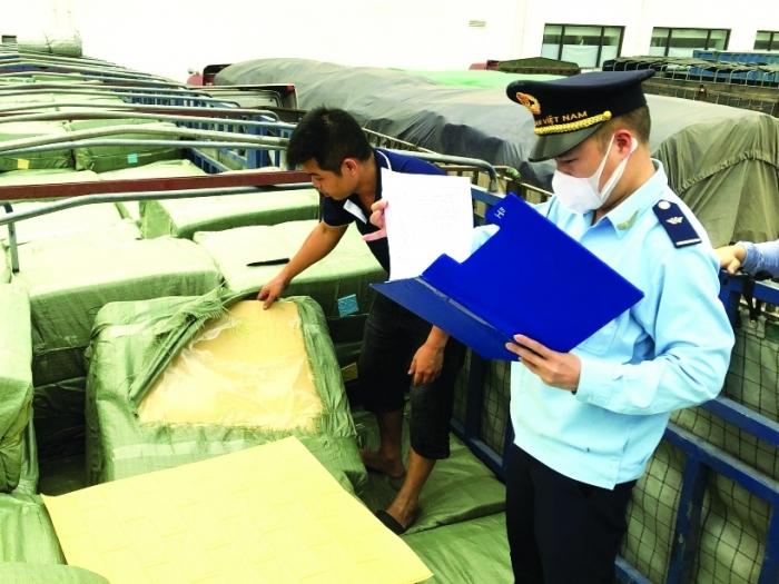 Hải quan Lạng Sơn: Ngăn chặn gian lận xuất xứ hàng hóa