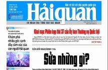 Những tin, bài hấp dẫn trên Báo Hải quan số 109 (2819) phát hành ngày 10/9/2019