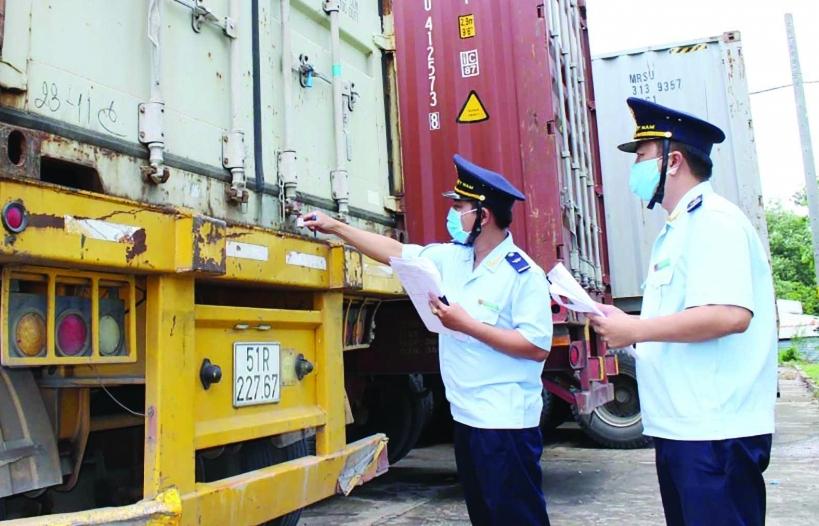 Tín hiệu khởi sắc trong thu ngân sách tại Hải quan Long An