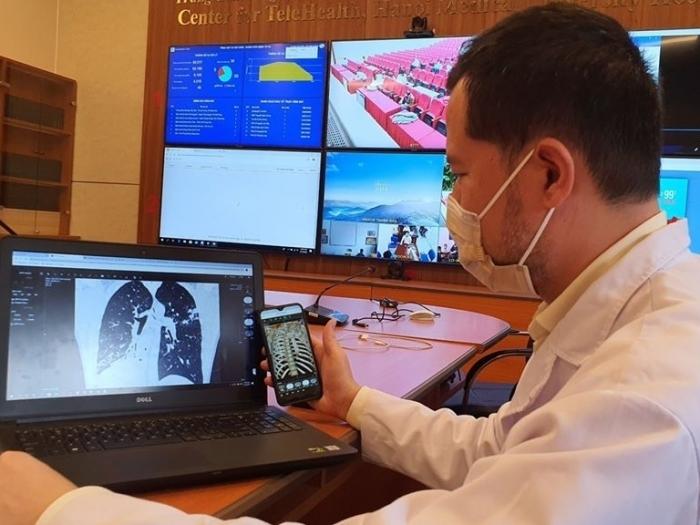 Khám chữa bệnh từ xa: Phát huy hiệu quả trong điều trị bệnh nhân Covid-19