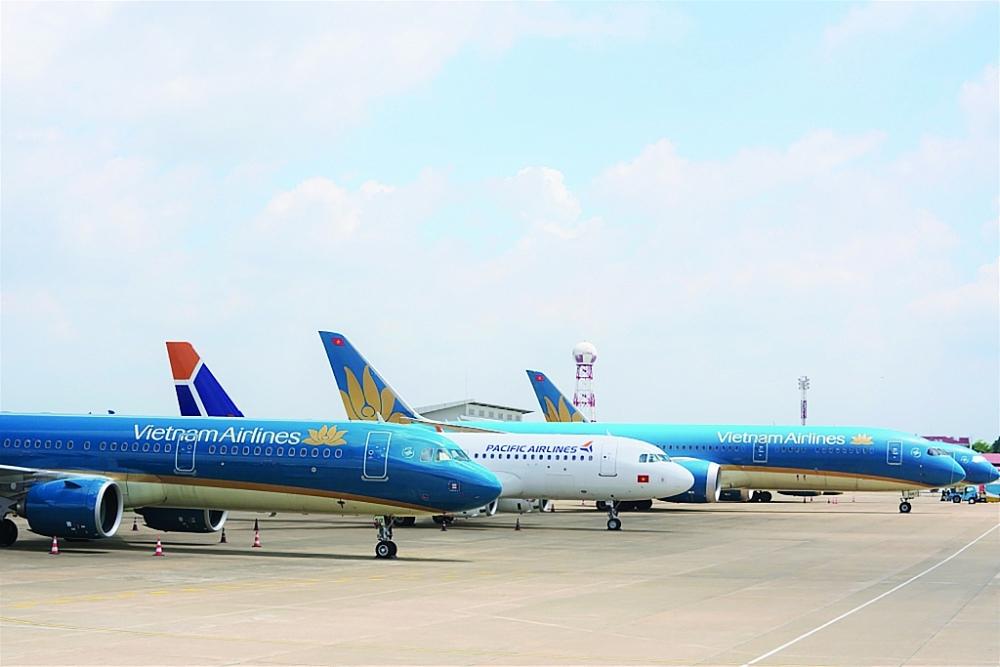 Dự báo, thị trường hàng không nội địa nước ta trong năm nay và sang năm sẽ phục hồi từng bước nhưng vẫn còn nhiều khó khăn.  Ảnh: ST