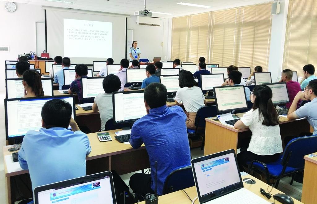 Tổ chức hướng dẫn kỹ năng khai, lập báo cáo quyết toán cho doanh nghiệp gia công