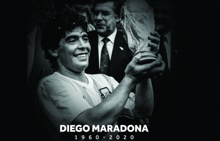 Maradona đã theo Chúa về trời
