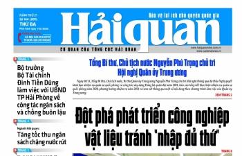Những tin, bài hấp dẫn trên Báo Hải quan số 144 phát hành ngày 1/12/2020