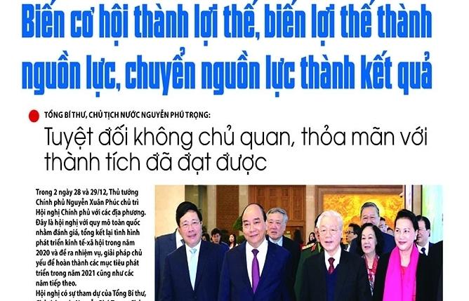 Những tin, bài hấp dẫn trên Báo Hải quan số 156 phát hành ngày 29/12/2020