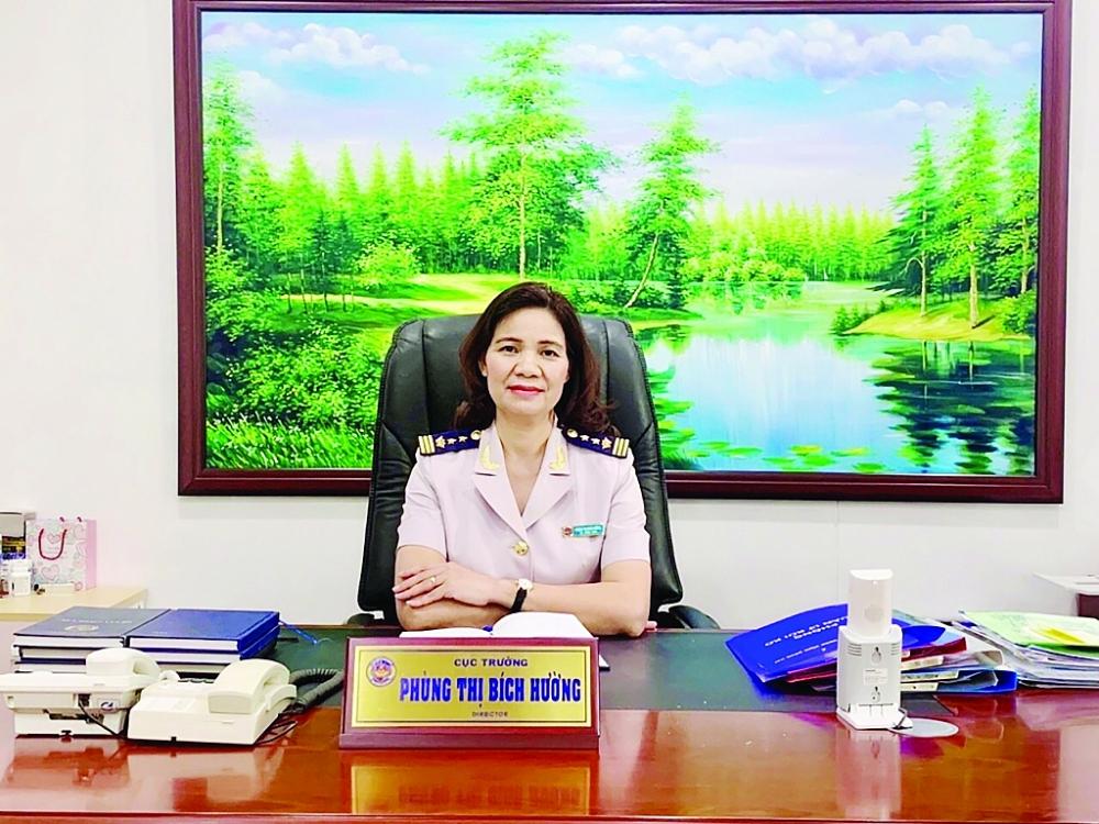 Cục trưởng cục Hải quan Đồng Nai Phùng Thị Bích Hường: