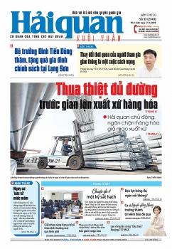 Những tin, bài hấp dẫn trên Báo Hải quan số 33 phát hành ngày 17/3/2019