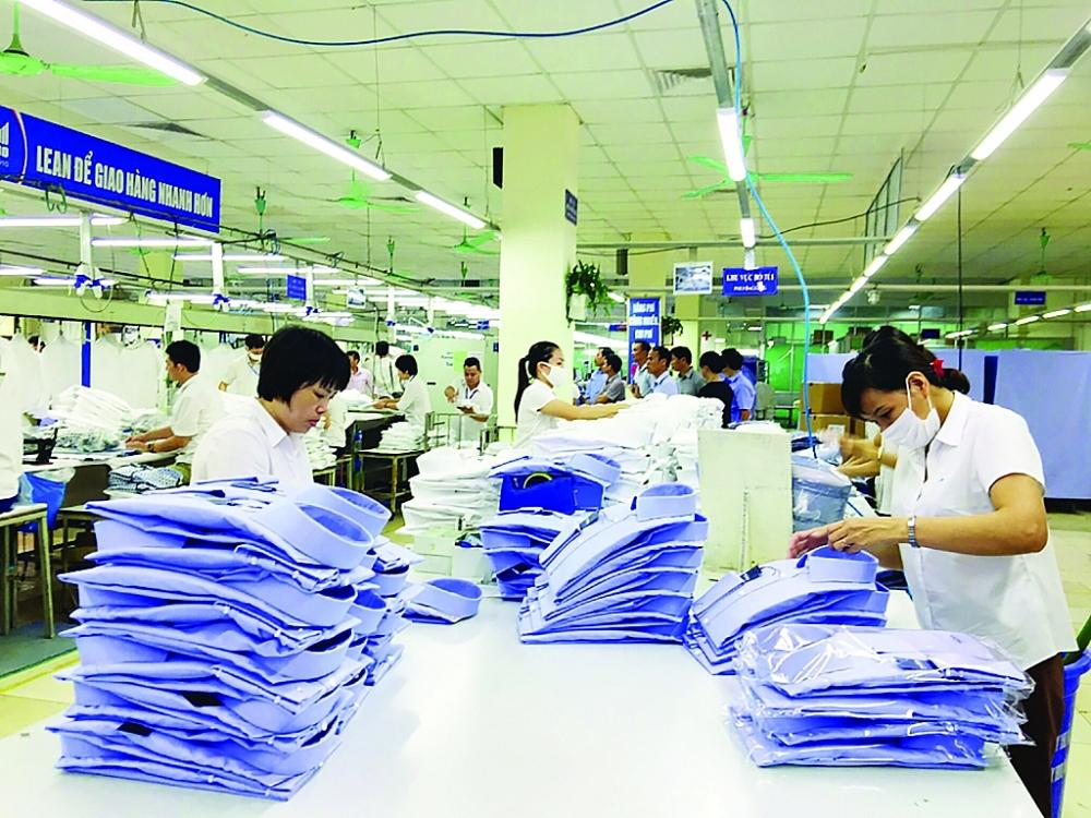 Sản xuất công nghiệp trên đà phục hồi