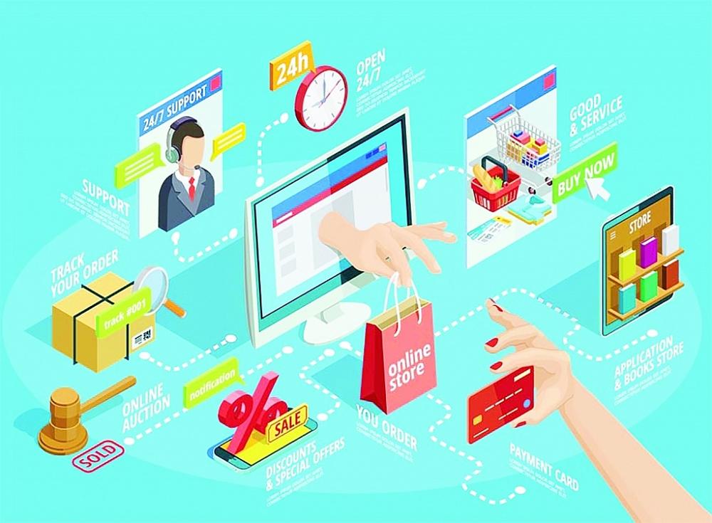 Xây dựng nghị định quản lý hàng hóa xuất nhập khẩu qua thương mại điện tử