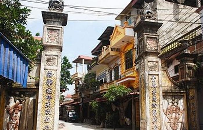 Phù Lưu, làng phong lưu