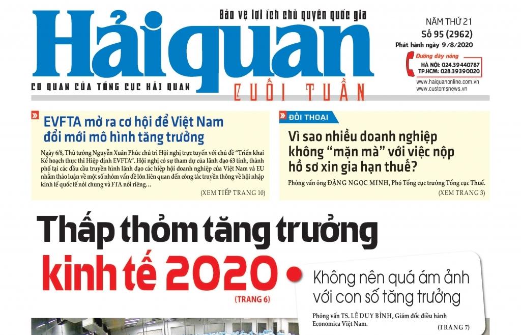 Những tin, bài hấp dẫn trên Báo Hải quan số 95 phát hành ngày 9/8/2020