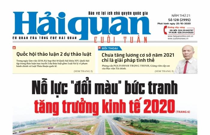 Những tin, bài hấp dẫn trên Báo Hải quan số 128 phát hành ngày 25/10/2020