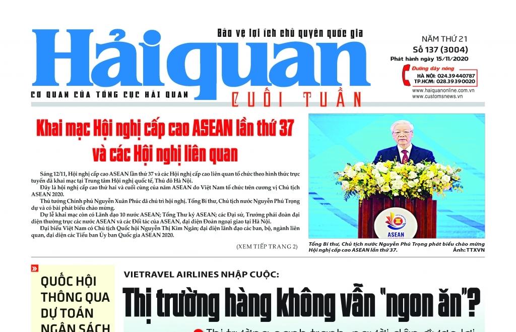 Những tin, bài hấp dẫn trên Báo Hải quan số 137 phát hành ngày 15/11/2020