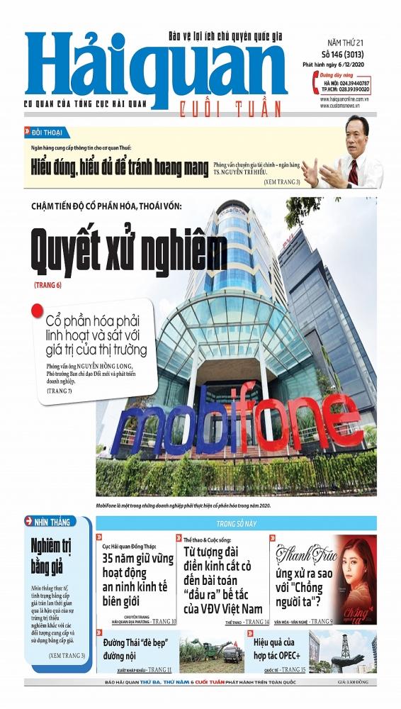 Những tin, bài hấp dẫn trên Báo Hải quan số 146 phát hành ngày 6/12/2020