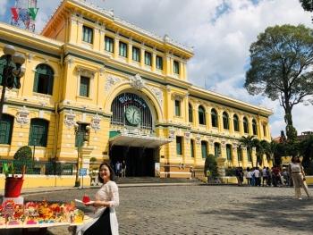 Bưu điện Sài Gòn - điểm đến thu hút khách du lịch quốc tế