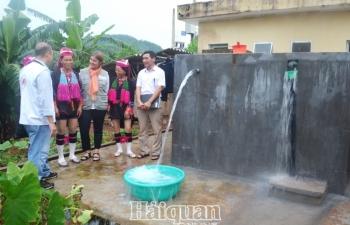 Sẽ siết chặt quản lý tài sản  kết cấu hạ tầng cấp nước sạch