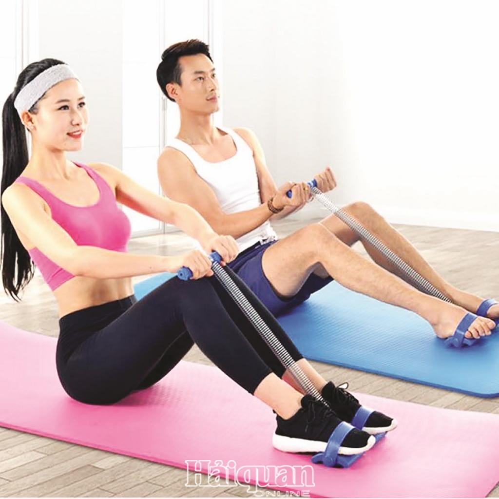 Tập thể dục ở nhà cũng hiệu quả!