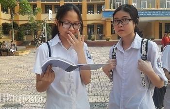 Kỳ thi vào lớp 10 tại Hà Nội:  Áp lực hơn với 4 môn thi