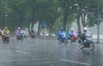 Dự báo thời tiết hôm nay: Đông Bắc có mưa, Tây Bắc có nơi nắng nóng