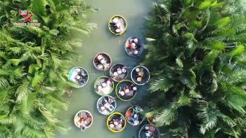 Khám phá rừng dừa Bảy mẫu Hội An
